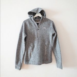 The North Face gray hoodie Sz xs (i25)